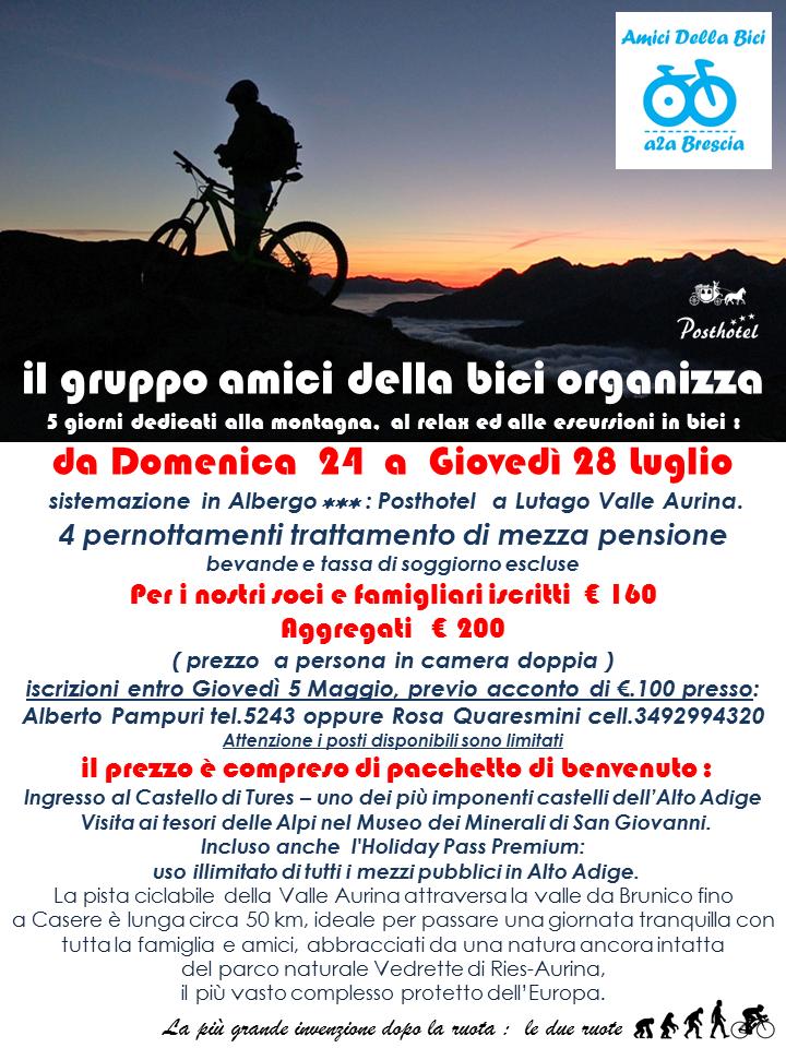 Soggiorno in valle aurina crasm a2a brescia for Lista permesso di soggiorno brescia maggio 2017