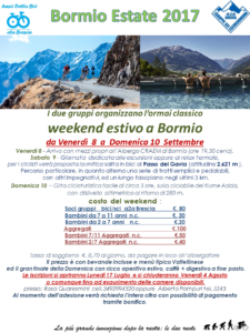 Bormio Estate 2017