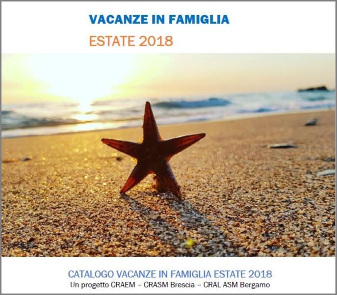 Vacanze in famiglia 2018 crasm a2a brescia for Vacanze in famiglia